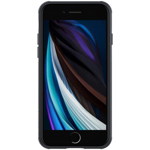 iPhone SE 2020 iPhone 8 iPhone 7 Nillkin CamShield Pro umbris kaamera kaitsega must 1
