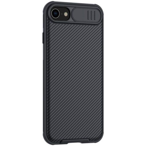 iPhone SE 2020 iPhone 8 iPhone 7 Nillkin CamShield Pro umbris kaamera kaitsega must 2