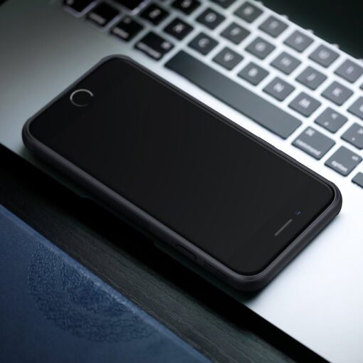 iPhone SE 2020 iPhone 8 iPhone 7 Nillkin CamShield Pro umbris kaamera kaitsega must 7