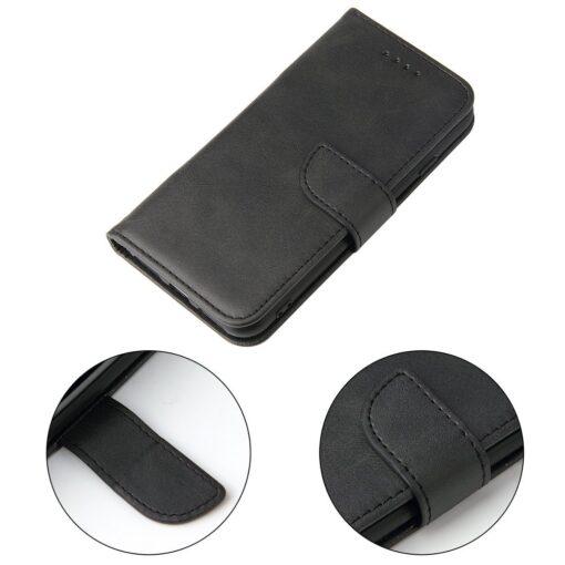 iPhone SE 2020 iPhone 8 iPhone 7 magnetiga raamatkaaned must 4
