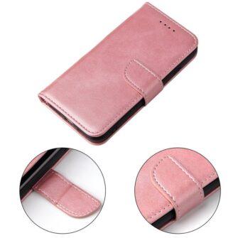 iPhone SE 2020 iPhone 8 iPhone 7 magnetiga raamatkaaned roosa 3