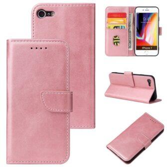 iPhone SE 2020 iPhone 8 iPhone 7 magnetiga raamatkaaned roosa 5