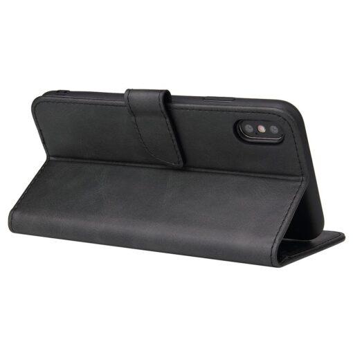 iPhone XR magnetiga raamatkaaned must 1