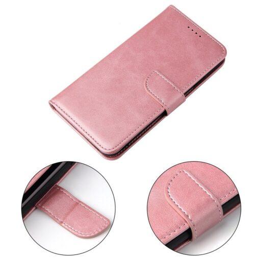 iPhone XR magnetiga raamatkaaned roosa 2