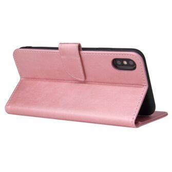 iPhone XR magnetiga raamatkaaned roosa 4