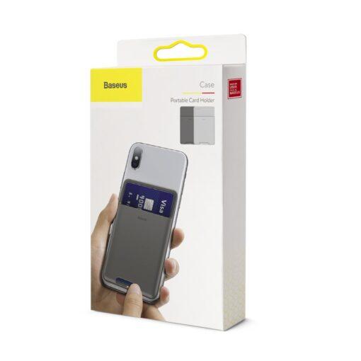 Kaardihoidja telefonile silikoonist hall ACKD A0G 14