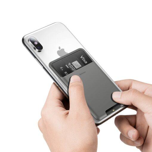 Kaardihoidja telefonile silikoonist hall ACKD A0G