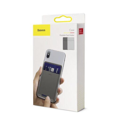 Kaardihoidja telefonile silikoonist hall ACKD B0G 14