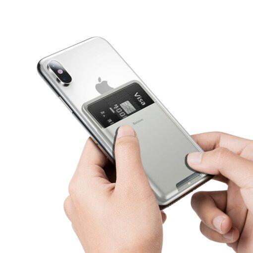 Kaardihoidja telefonile silikoonist hall ACKD B0G