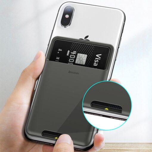 Kaardihoidja telefonile silikoonist hall ACKD B0G 7