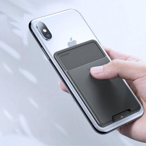 Kaardihoidja telefonile silikoonist hall ACKD B0G 8