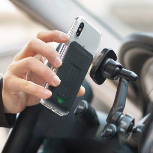 Ringke kaardihoidja telefonile ACFC0024 must 13
