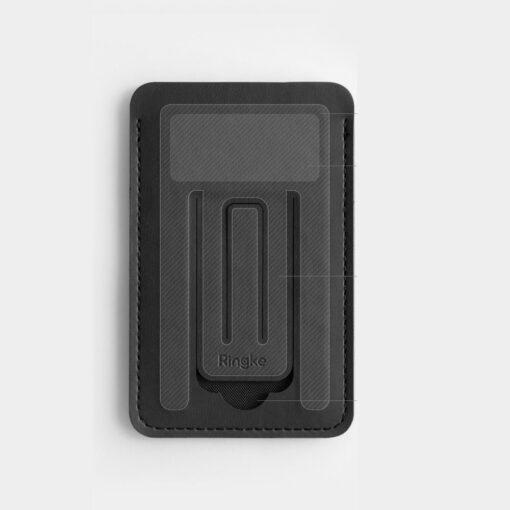 Ringke kaardihoidja telefonile ACFC0024 must 5