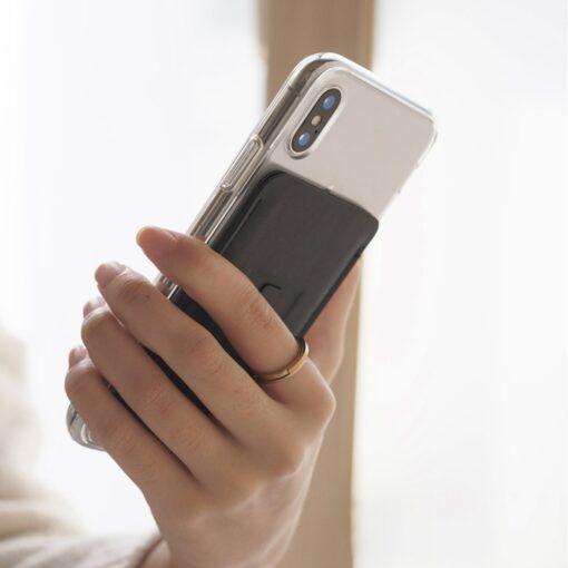 Ringke kaardihoidja telefonile ACFC0024 must 7