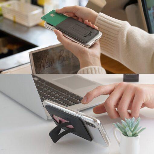 Ringke kaardihoidja telefonile ACFC0024 must 8