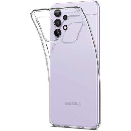 Samsung A32 Galaxy umbris Spigen Liquid Crystal labipaistev 2