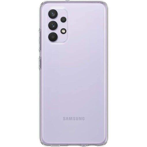 Samsung A32 Galaxy umbris Spigen Liquid Crystal labipaistev 3