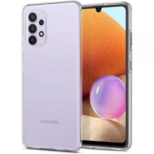 Samsung A32 Galaxy umbris Spigen Liquid Crystal labipaistev