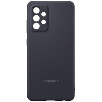 Samsung A52 Galaxy Samsung umbris silikoonist must EF PA525TBEGWW 3