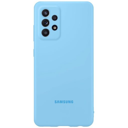 Samsung A52 Galaxy Samsung umbris silikoonist sinine EF PA525TLEGWW