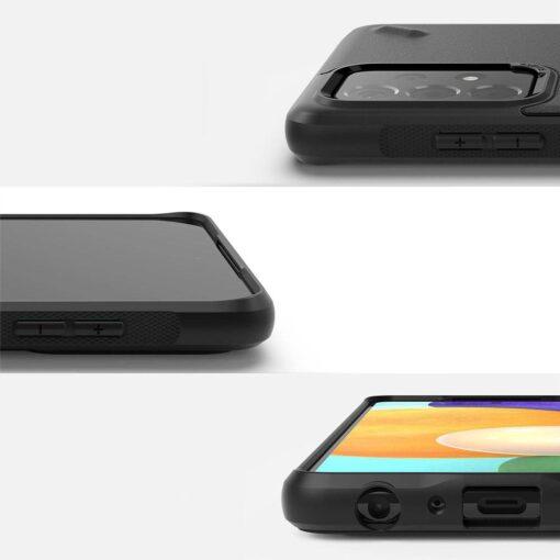 Samsung A52 Galaxy umbris Ringke OXSG0034 silikoonist must 1
