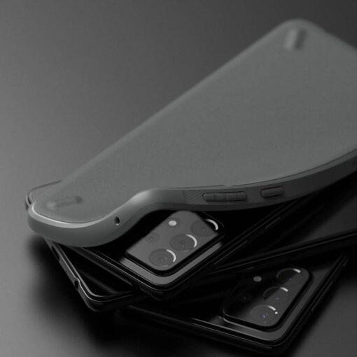 Samsung A52 Galaxy umbris Ringke OXSG0034 silikoonist must 2