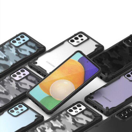 Samsung A52 Galaxy umbris Ringke XDSG0047 silikoonist camo 5