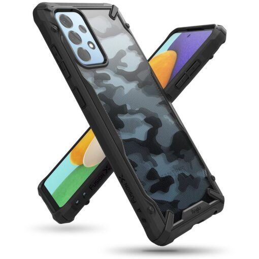Samsung A52 Galaxy umbris Ringke XDSG0047 silikoonist camo