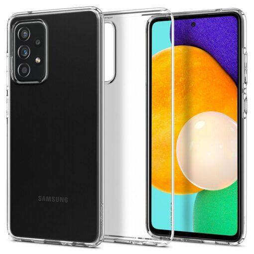 Samsung A52 Galaxy umbris Spigen Liquid Crystal Clear 1