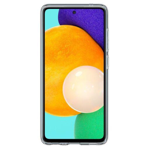 Samsung A52 Galaxy umbris Spigen Liquid Crystal Clear 12