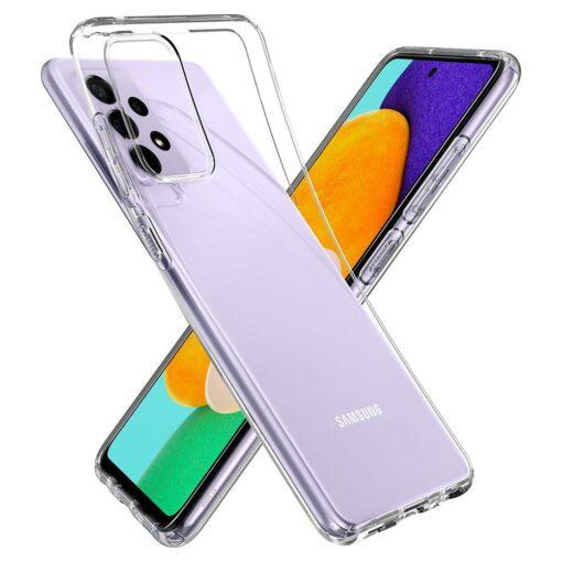 Samsung A52 Galaxy umbris Spigen Liquid Crystal Clear 16