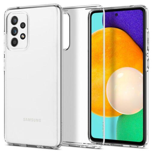 Samsung A52 Galaxy umbris Spigen Liquid Crystal Clear 3