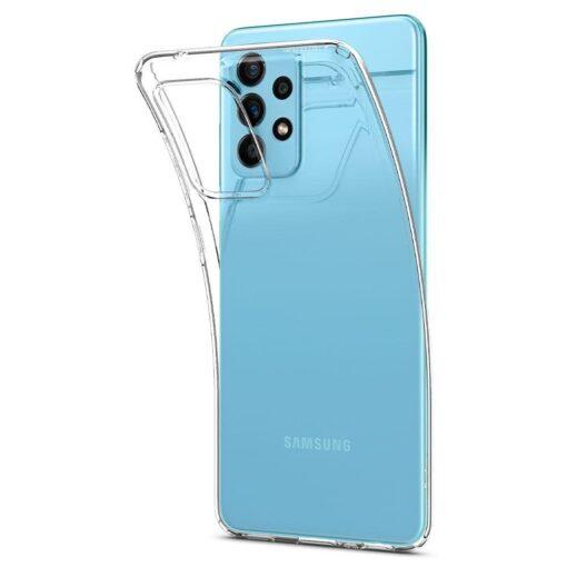 Samsung A52 Galaxy umbris Spigen Liquid Crystal Clear 5