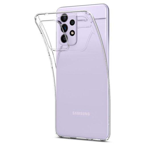 Samsung A52 Galaxy umbris Spigen Liquid Crystal Clear 6