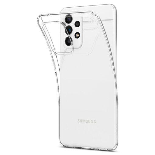 Samsung A52 Galaxy umbris Spigen Liquid Crystal Clear 7