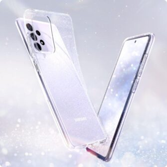 Samsung A52 Galaxy umbris Spigen Liquid Crystal Glitter Crystal 1
