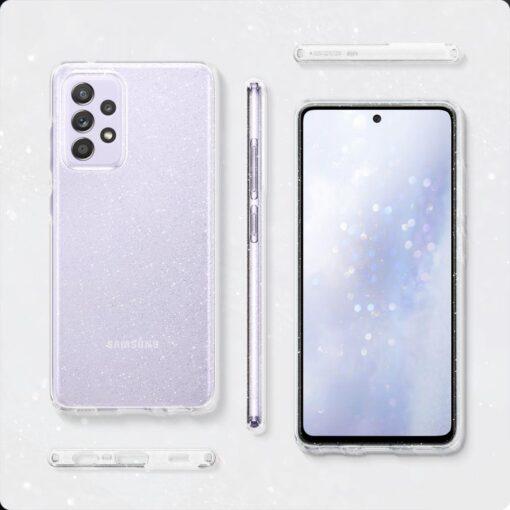 Samsung A52 Galaxy umbris Spigen Liquid Crystal Glitter Crystal 6