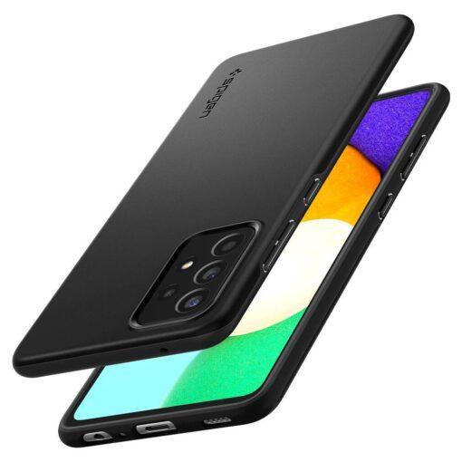 Samsung A52 Galaxy umbris Spigen Thin Fit must 4
