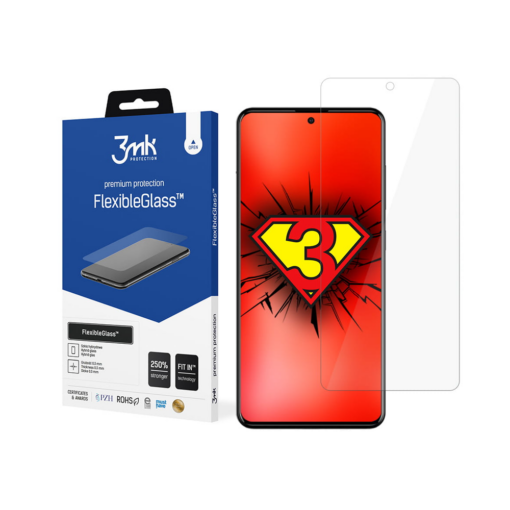 Samsung A52 kaitseklaas flexbibleglass 3mk hubriid