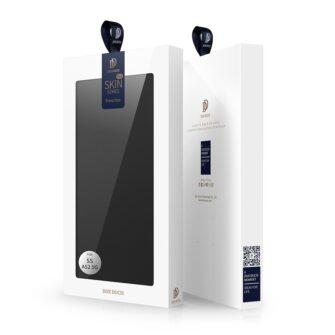 Samsung A52 kunstnahast kaaned kaarditaskuga DUX DUCIS Skin Pro must 4