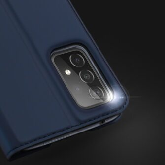 Samsung A52 kunstnahast kaaned kaarditaskuga DUX DUCIS Skin Pro roosa 10