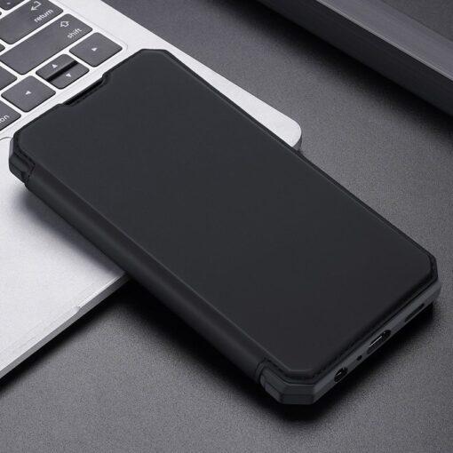 Samsung A52 kunstnahast kaaned kaarditaskuga DUX DUCIS Skin X must 12