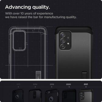 Samsung A52 umbris Galaxy Spigen Tough Armor must 2
