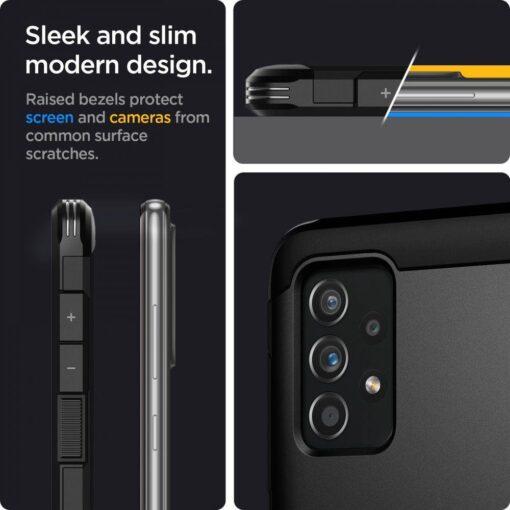 Samsung A52 umbris Galaxy Spigen Tough Armor must 6