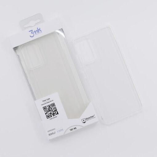 Samsung A52 umbris silikoonist labipaistev 3mk Clearcase 2 min