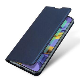Samsung A71 kunstnahast kaaned kaarditaskuga DUX DUCIS Skin Pro roosa 13