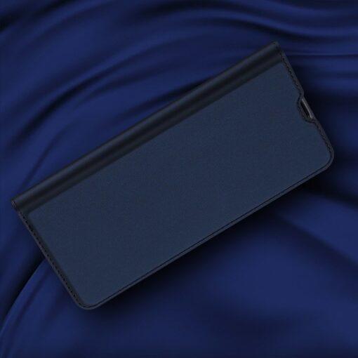 Samsung A71 kunstnahast kaaned kaarditaskuga DUX DUCIS Skin Pro roosa 7
