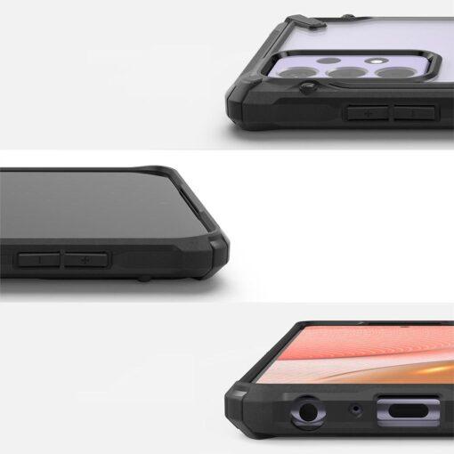 Samsung A72 Galaxy umbris Ringke FUSG0070 silikoonist must 1