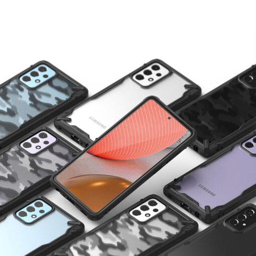 Samsung A72 Galaxy umbris Ringke FUSG0070 silikoonist must 4