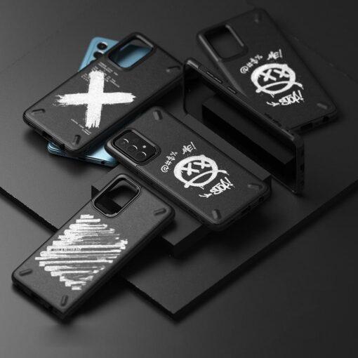 Samsung A72 Galaxy umbris Ringke Graffiti OXSG0048 silikoonist 2